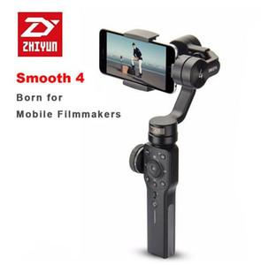 ZHIYUN suave 4 smartphone Handheld 3-Eixo Cardan Gimbal Estabilizador Portátil para Smartphone iPhone Câmera Cardan zhi yun