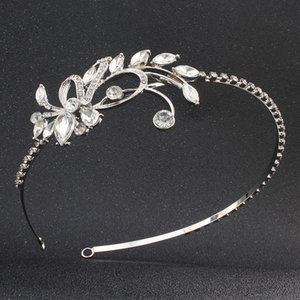 Mulheres Clássicas Tiaras e Coroas de Cristal Austríaco Stone Hairbands Princesa Diadema Acessórios Para Jóias de Casamento Noiva Cabelo JCI013