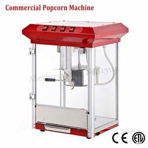 Elektrikli Patlamış Mısır Makinesi Kolay Kullanım Ticari Büyük Mısır Popper Makinesi Kırmızı Renk 220 V CE Onayı 1175 W Yepyeni