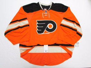 Cheap Custom PHILADELPHIA FLYERS AUTHENTIC THIRD EDGE JERSEY GOALIE CUT 60 Mens cucite maglie hockey personalizzate
