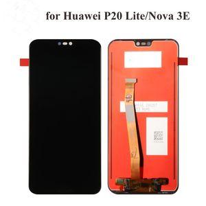 Huawei P20 Lite LCD عرض + شاشة تعمل باللمس محول الأرقام الجمعية استبدال لهواوي نوفا 3E شاشة LCD 5.84 بوصة + أدوات الشريط