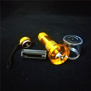 145mm de Alumínio De Tabaco De Alumínio Trituradores de Moedor de erva Triturador de Erva Moedor de Fumo Triturador de erva Triturador de moedor de Tabaco