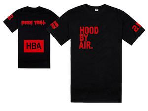 Nouveau HBA T-shirt d'été t-shirt capuche HBA Air X Vous connaissez Trill tee shirt 100% coton Livraison gratuite