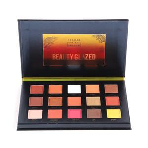 جديد 15 لون Denonas Lila Eyeshadow Palette Highlighter Powder Natashas Glitter Sunset Eyeshadow Pallete by Beauty Glazed 1228009
