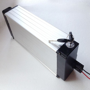 Free Shipping High quality 48V 20AH Lithium ion Battery Rear Rack 750W 1000W Ebike Battery Pack with 30A BMS+Charger