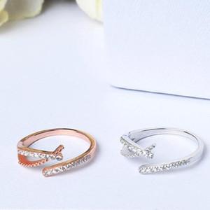 jewerly S925 anelli in argento sterling per le donne zircone anelli magici semplice caldo classico di modo libero di trasporto
