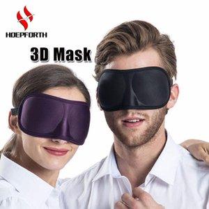Uyku Maskesi 3D Süper Yumuşak Nefes Kumaş Siperliği Göz Maskesi Taşınabilir Yardım Seyahat Uyku Istirahat için Göz Maskesi Kapak Eyepatch