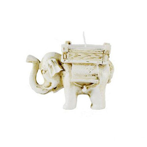 FEIS wholesale Home Decoration Handmade Small Tea Light Resin Elephant Candle Holder Matching Cup Candle Lucky Wedding Favors