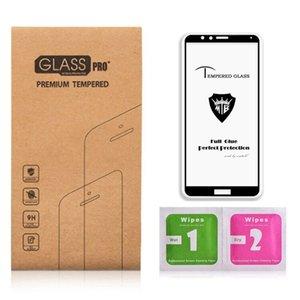 Панель полноэкранного клея Крышка из закаленного стекла для Huawei P20 Противопыльный микрофон Закаленное стекло для Huawei Honor 10