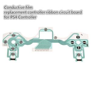 Placa de circuito de la cinta de botones de reemplazo de la película conductora para Play Station 4 para el controlador PS4 Versión antigua DHL FEDEX EMS ENVÍO GRATIS