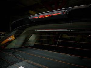 Kohlefaser Aufkleber Und Abziehbilder hohe Montiert Bremsleuchte Licht Auto-styling Für Ford Fiesta Fließheck 2009-2015 Zubehör