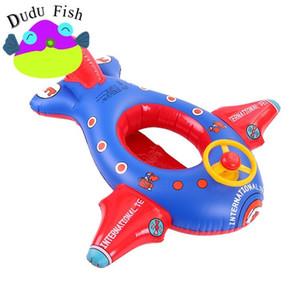 Big Aircraft Children Swimming Ring Hinchables Asiento Anillo Cómodo Niños Inflables Tubos Piscina Flotador Barco Venta Caliente 18 5md X