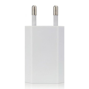 شاحن الهاتف USB Travel Moblie Phone EU Plug 5V 1A Wall Power Adapter for iPhone for iPad for Sumsung Xiaomi Huawei
