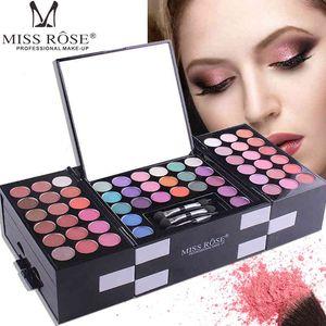 MISS ROSE Maquillaje Mate Paleta 142 Color Sombra de ojos Maquiagem Sombra de ojos Paleta Maquillaje Sombras Paleta Kit Cosméticos Conjunto de sombras