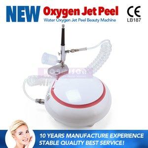 Mini Portable Oxygen Jet Peeling Machine Faciale Rajeunissement De La Peau Oxygen Beauté Machine Pour La Maison Utiliser DHL Livraison Gratuite