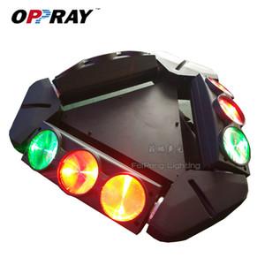 FeiPeng Lighting Two Garanzia 9PCS Beam Spider Light 9 * 12W 4in1 RGBW LED Moving Head Light per KTV Wedding Bar Culb Night Praty