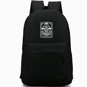 Amon Amarth backpack Death metal daypack Cool Rock band schoolbag Music rucksack Sport school bag Outdoor day pack