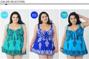 YCDYZ Large Size Frauen Bademode Kleid Für Fette Frauen Plus Größe Einteilige Badeanzüge Strand Badeanzug