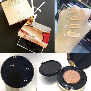 Известный YS1 Face Makeup Powder Le Подушка Encre De Peau Коллектор Fusion Ink Подушка Foundation маскирующее 14g 2colors