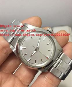 2018 BP fábrica última versión antigua 116400 gris marcar 35 mm Asia 2813 alta calidad reloj automático mujer mecánica