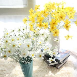 IPOPU 69 cm Yapay Kiraz Çiçekleri Çiçekler Sahte Ipek Çuha Çiçeği Çiçekler Düğün Bahçe Simülasyon Ev Dekorasyon Için