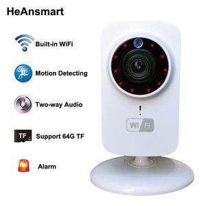 HD 1080x720P Беспроводная IP-камера Портативный смарт Wi-Fi CCTV камеры безопасности Веб-камера наблюдения Видеокамера ночного видения Аудио телекамеры
