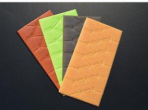1box 20 pz New Hot Syene Fashion Eco-friendly elastico PE Brick Foam Board Wall Sticker 3D decorativo pannello murale carta da parati