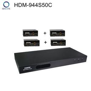 HDM-944S50C 4x4 HDMI-Matrix mit gleichzeitigem CAT5 / 6- und HDMI-Ausgangskonverter