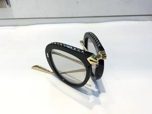 Lujo 0307 gafas de sol de diseñador para hombres y mujeres estilo de verano plegable rectángulo de cuadro completo de calidad superior protección UV vienen con estuche