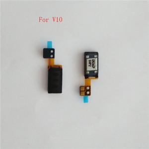 10 unids / lote V20 Auricular Auricular Sonido Auricular Auricular Pie Pieza Flex Cable Reemplazo para LG V10 V20