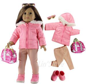 """Vêtements de la poupée à la mode Set Toy Vêtements Tenue pour 18 """"American Girl Poupée Casual Vêtements De nombreux styles de choix B04"""