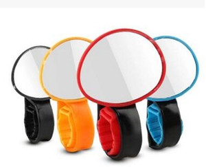 Bike Bicycle Cycling Rear View Mirror Handlebar Flexible Safety Rearview wholesale