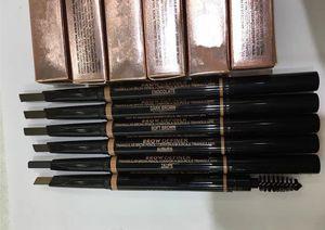 En CALIENTE dobles del maquillaje de cejas lápiz de cejas LÁPIZ CRAYON EBONY SUAVE marrón oscuro Marrón Medio CHOCOLATE envío