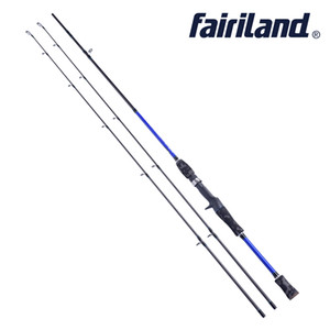 Fairiland 1,83 / 1,98 / 2,1 m M power carbon baitcasting rute 2 SEC angelrute locken angelrute köder casting angelgerät