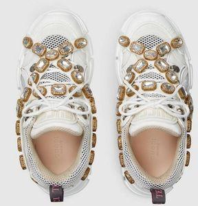 2019 Mujer Zapatilla de deporte con cristales extraíbles Roller Artes marciales Senderismo Ciclismo Bolos Baloncesto SNEAKERS Zapatos Zapatos de vestir