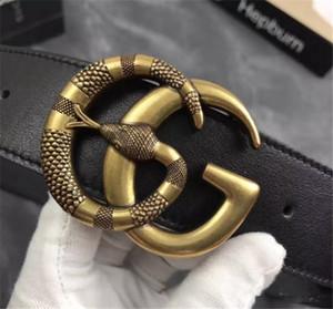 2019 Ceinture de marque de designer de marque de mode ceintures pour hommes et femmes d'affaires décontracté ceinture en cuir de haute qualité noir 2 bande de taille