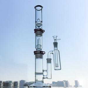 19 pouces Hauteur Big Bang en verre avec dôme Showerhead glace Pincez Dab huile Rig tube droit Pipes eau avec 18mm Femme Joint WP522
