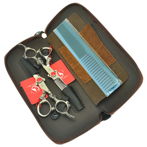 6.0 Inch Meisha Professional Hairdressing Scissors Stainless Steel Hair Cutting Thinning Shears Salon Clipper Barbers Hair Tools Set HA0441