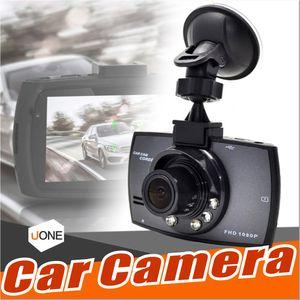 """G30 автомобильная камера 2.4 """" Full HD 1080P автомобильный видеорегистратор DVR видеорегистратор Dash Cam 120 градусов широкий угол обнаружения движения ночного видения G-сенсор с пакетом"""