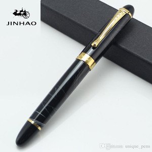 JINHAO X450 design unique en métal stylo plume sans boîte de crayon école de luxe de bureau papeterie de luxe écriture mignon stylos cadeau