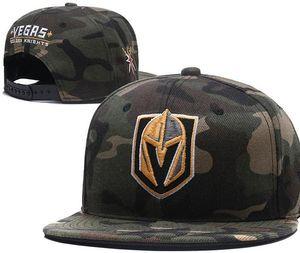 Vegas Golden Snapback Camo Knights Caps Einstellbar Alle Team Baseball Damen Herren Snapbacks Hochwertiger Sporthut