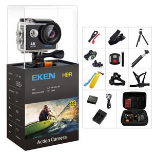 """Оригинальный Eken H9 / H9R Action Camera 4K Ultra HD 1080P / 60FPS мини-шлем CAM WiFi 2.0 """"170D водонепроницаемая спортивная камера"""
