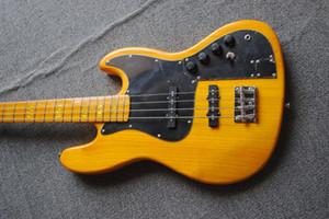 도매 최고 품질 유물 수제 JAZZ 전기베이스 기타