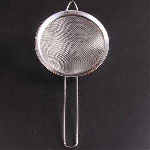 Top Qualité Colanders Huile Cuillère Tamis Filtre Net En Acier Inoxydable Bord Large Mesh Cuisine Articles Crépine 3 9am2 ii