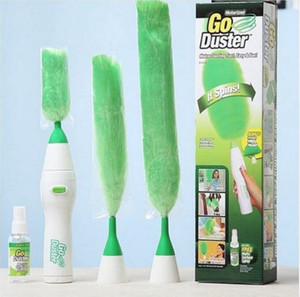 Go Duster Electric Feather Duster Electric Dust Brush Scroll Brush Vacuum Cleaner Parts Household Cleaning Tools OOA5576