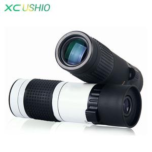 Foco portátil Monocular Telescópio Ajustável 15-70X22 FMC Verde Filme Revestido Monocular Telescópio Zoom 15x para Assistir Esportes