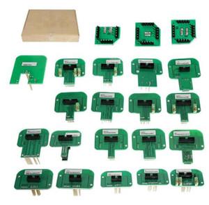 Free shipping 22pcs set KTAG KESS KTM Dimsport BDM Probe Adapters Full Set LED BDM Frame ECU RAMP Adapters