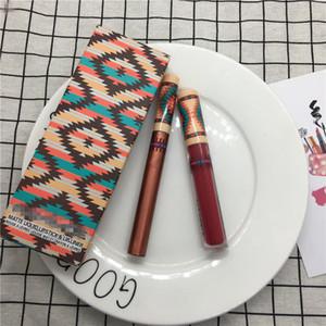 2018 M Maquillage Vibe Tribe Matte Liquide Rouge À Lèvres Brillant À Lèvres + Ombre À Paupières Liquide Édition Limitée Ensemble Lipgloss Kit 12 couleurs