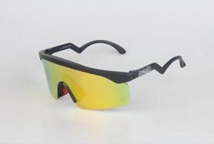 OO9140 Marke Outdoor Sonnenbrille Mode Männer Frauen Eyewear-Goggles Rasierklingen Gläser Freies Verschiffen Radfahren Sonnenbrillen mit Case Logo