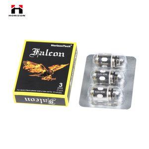 Horizon Falcon M3 M-Triple maille bobine 0.15ohm têtes de rechange bobines POUR HORIZON FALCON SUB OHM réservoir réservoir en résine 3pcs / pack 100% authentique